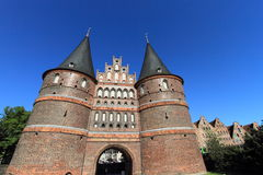 Traditional architecture of Lubeck Stock Image