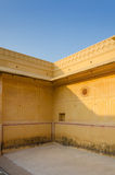 Traditional architecture in Nahargarh Fort Stock Photo