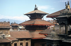 Traditional Architecture, Nepal Royalty Free Stock Photo