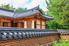 Traditional architecture old building or house in Korea Royalty Free Stock Photos