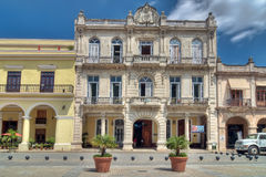 Traditional architecture at Plaza Vieja, Havana Stock Images