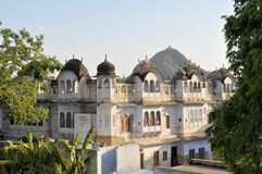 Traditional architecture in Pushkar, Rajasthan Stock Photography
