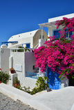 The traditional architecture of Santorini, Oia Royalty Free Stock Photography