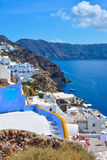 The traditional architecture of Santorini Royalty Free Stock Images