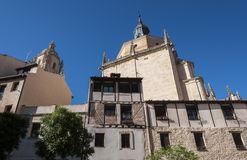 Traditional architecture in Segovia Stock Photography