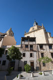 Traditional architecture in Segovia Royalty Free Stock Images
