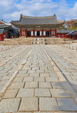 Traditional Architecture in Seoul, South Korea Royalty Free Stock Photography