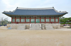Traditional Architecture in Seoul, South Korea Royalty Free Stock Image