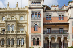 Traditional architecture of Seville Royalty Free Stock Images