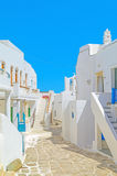 Traditional architecture on Sifnos island Stock Image