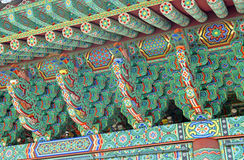 Traditional architecture, South Korea Royalty Free Stock Photos