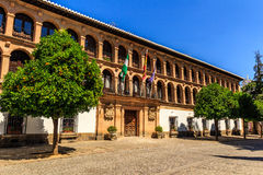 Traditional architecture on the streets of the old town of Ronda. Andalusia. Spain Royalty Free Stock Photography