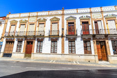Traditional architecture on the streets of the old town of Ronda. Andalusia. Spain Royalty Free Stock Images