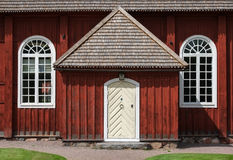 Traditional architecture in Sweden Stock Photography
