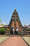 Traditional architecture of temples. Bali Royalty Free Stock Photo