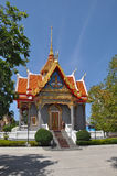 Traditional architecture of temples of Thailand Royalty Free Stock Photo