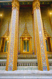 Traditional and architecture Thai style temple Stock Photos