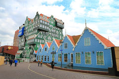 The traditional architecture of the Zaan region Royalty Free Stock Photography