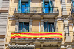Traditional architectures in Barcelona, Catalonia, Spain. Stock Images