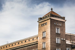 Traditional architecure in Riga Stock Photography
