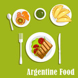 Traditional argentine cuisine and pastry Stock Photo