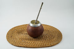 Traditional Argentinean Bevarage. Yerba Mate. Buenos Aires. South America. Royalty Free Stock Photos