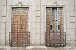 Traditional argentinian windows Stock Photos