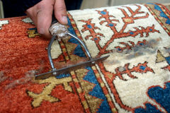 Traditional Armenian carpet Royalty Free Stock Photo