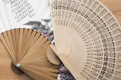 Traditional artistic fans Royalty Free Stock Images