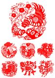 Traditional Artistic Pattern. Vector of Chinese Traditional Artistic Pattern Royalty Free Stock Image