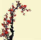 Traditional Artistic plum blossom Pattern Stock Photos