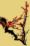 Traditional Artistic plum blossom Pattern Stock Images