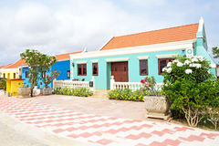 Traditional arubean house on Aruba island. In the Caribbean Stock Images