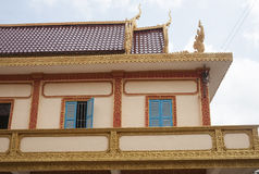Traditional Asian architecture. Royalty Free Stock Image