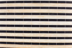 Traditional asian bamboo mat Royalty Free Stock Images