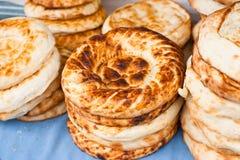 Traditional asian bread Stock Photos