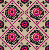 Traditional asian carpet embroidery Suzanne Royalty Free Stock Image