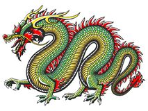 Traditional Asian Dragon stock illustration