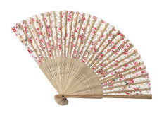 Traditional asian fan Stock Photography