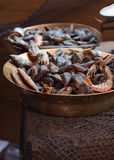 Traditional asian fish market Stock Photography