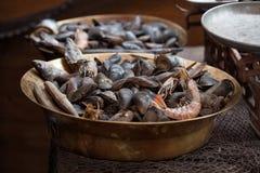 Traditional asian fish market Royalty Free Stock Photo