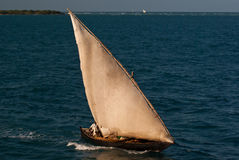 Traditional Asian fishing boat Royalty Free Stock Photography