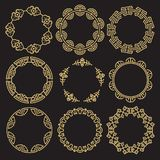 bf2f783e790e Traditional asian frames - chinese korean japanese stock illustration