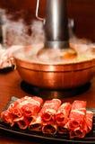 Traditional Asian Hot Pot Royalty Free Stock Image