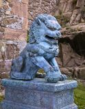 Traditional asian lion statue Royalty Free Stock Photos