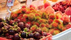 Traditional asian market Royalty Free Stock Photo
