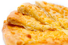Traditional Asian pancake with cheese Royalty Free Stock Image
