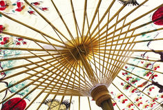 Free Traditional Asian Paper Umbrella Royalty Free Stock Photo - 9247615