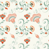 Traditional Asian seamless detailed vector pattern Royalty Free Stock Photo