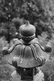 Traditional asian stone lantern Royalty Free Stock Photography